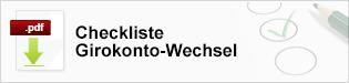 Vorlage Checkliste Girokonto - Teaser