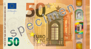 bargeld 50 euro schein vorderseite