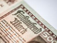 Inflation Geldschein 5000 Reichsmark