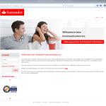 Login Santander Komfort-Wechselservice