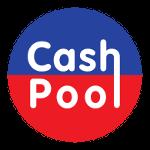 blau rotes Logo von CashPool