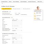 Kontoeröffnung comdirect Eingabe persönliche Daten