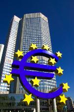 Blick auf die EZB