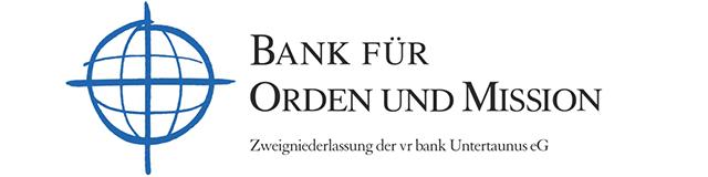 Logo der Bank für Orden und Mission