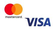 MasterCard/Visa-Kreditkartendoppel