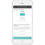 Mit der NUMBER26-App im Onlinebanking der alten Bankverbindung anmelden
