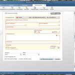 Screenshot WISO Mein Geld Überweisungsträger