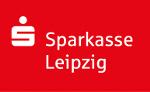 rotes Logo der Sparkasse Leipzig